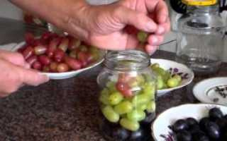 Виноград консервированный на зиму в домашних условиях (рецепты)