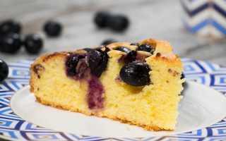 Пирог с виноградом: рецепт приготовления торта